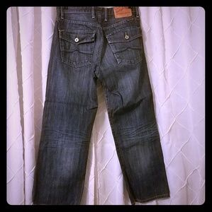 Lucky Brand Jeans - Mens Lucky Jeans dark stone wash 29 Short !